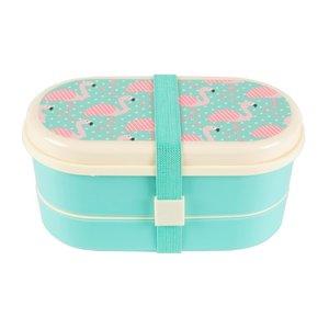 Sass & Belle - Bento Lunchbox Flamingo's