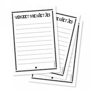 byBean - Notitieboekje Vergeet me nietjes