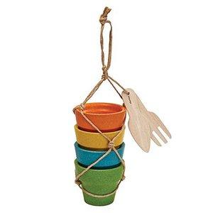 Plan Toys - Flower pot set