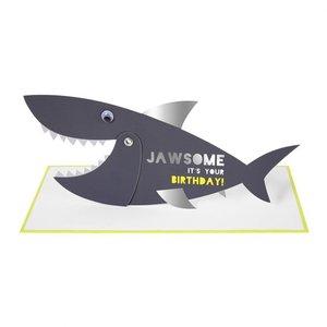 Verjaardagskaart haai