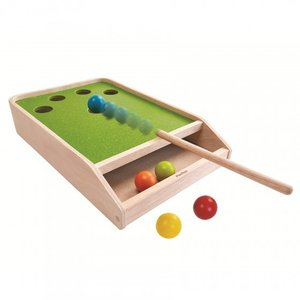 Plan Toys - Ball shoot board spel