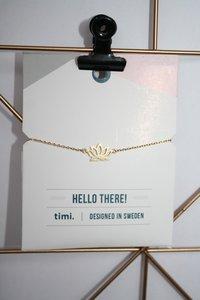 Armband - lotus bloem goud