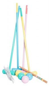Croquet spel pastel - Magni