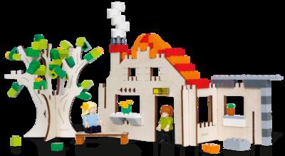 Huis - bouwplaat