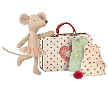 Ballerina mouse with 2 dresses - Mailet