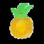 Bekerhouder Ananas - Swim Essentials