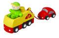 Takelwagen set - Plan Toys