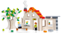 Bouwplaat Huis - Brikkon