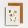 12 Letter Postcards - Hello August
