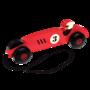 Trekspeeltje vintage houten raceauto - Rex London